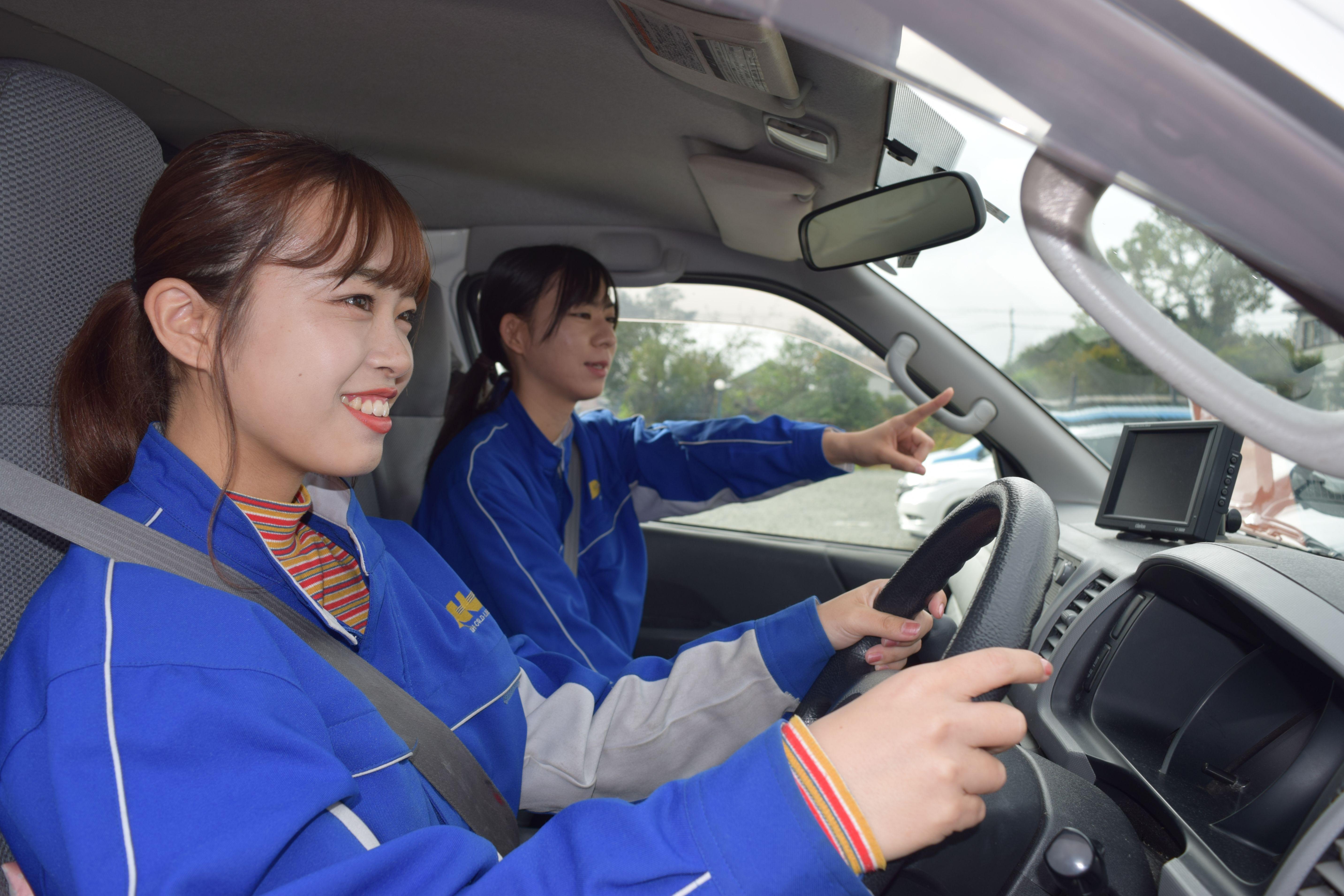 残り限定1名!普通免許で運転できる!ワンボックス トラックドライバー /特長イメージ