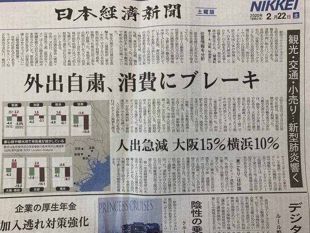新聞 記事 コロナ
