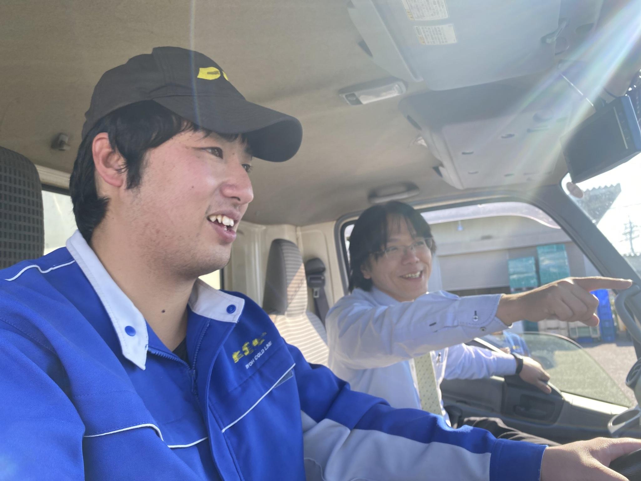 【アルバイト】週一日からOK!4tトラックドライバー(運転手)/特長イメージ